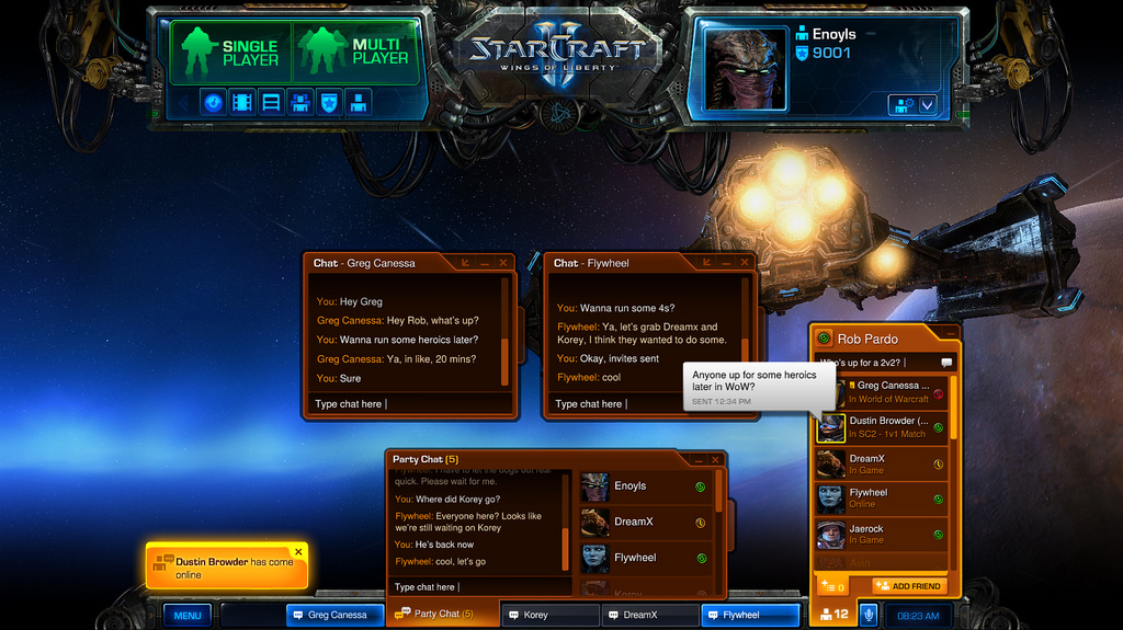 how to appear offline on battlenet